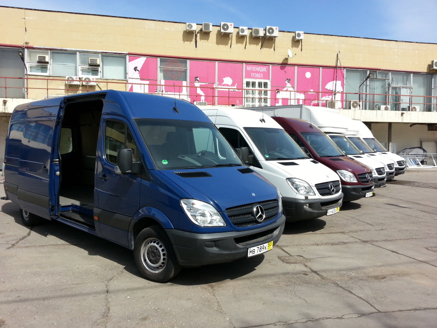 Mercedes-Benz Sprinter 3т Фургон, 03