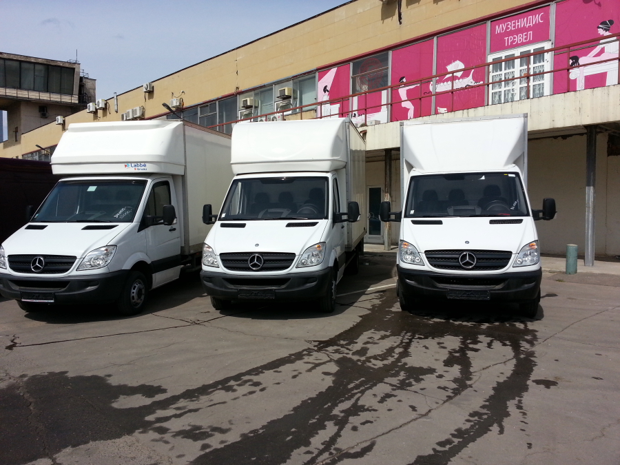 Mercedes-Benz Sprinter 3т Фургон, 04