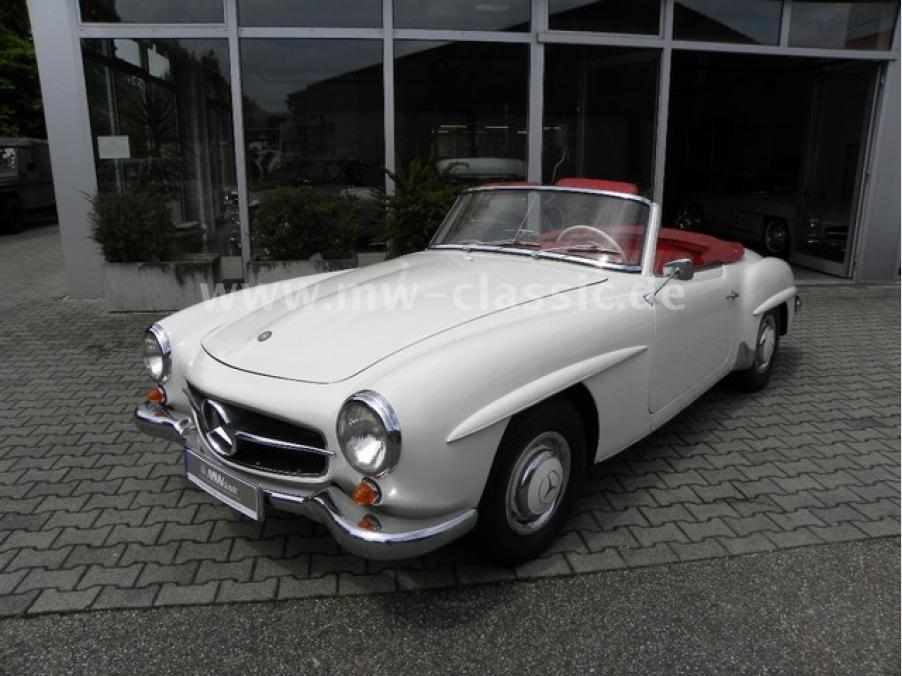 Mercedes-Benz 190 SL, 01