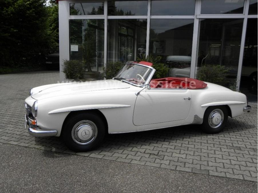 Mercedes-Benz 190 SL, 04