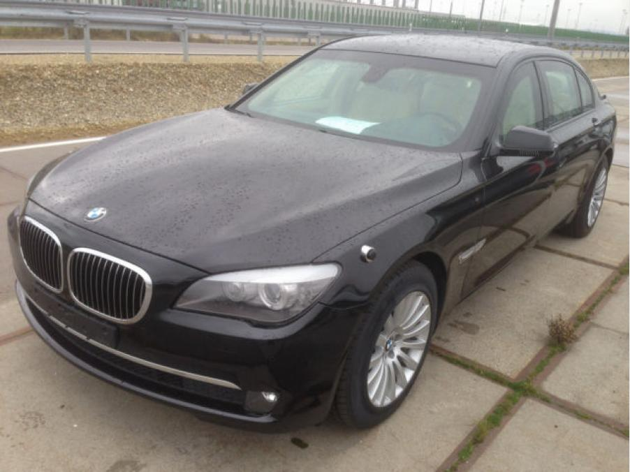BMW 760Li F03 High Security Werkspanzer Armoured