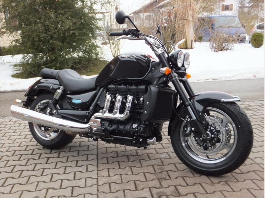 Triumph Rocket3 Roadster, ABS neu,neu, 07